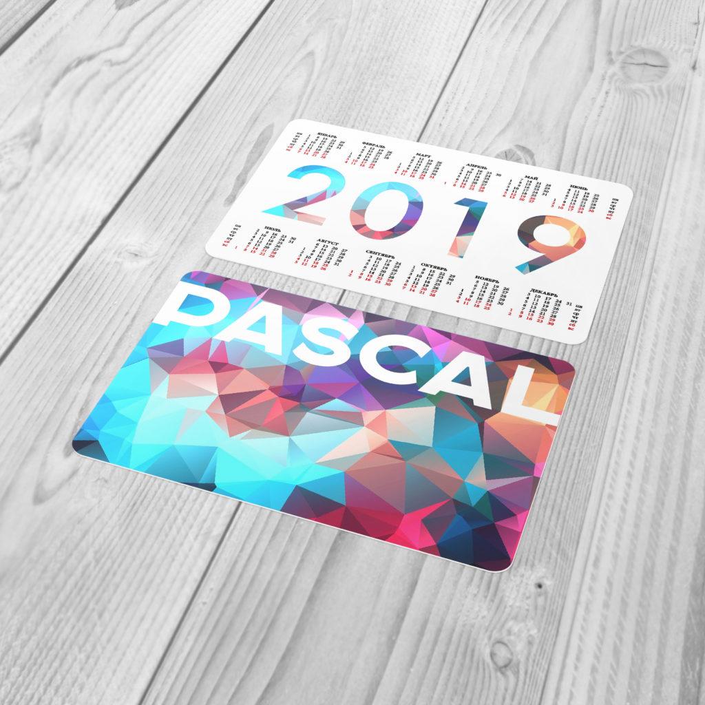 Календари карманные 2019