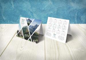 печати сборного тиража календарей 2019